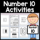 Number 10 Mini Bundle {Number 10 Worksheet and Six Number 10 Activities!}