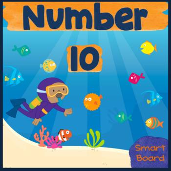 Number 10  for SMARTboard