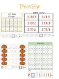 Number 100-200 Tracing, Bingo, Number Poster Chart. Flash Cards