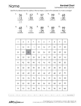 Number 100 Printable Collection