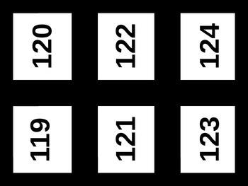 Number 101-200 cards