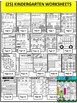 Number 11 Math Worksheets-NO PREP- DIFFERENTIATED-PRE-KG AND KG