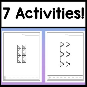 Number 11 Mini Bundle {Number 11 Worksheet and Six Number 11 Activities!}