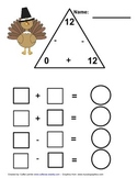 Number 12 Math Fact Family