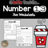 Number 13 (Thirteen) No Prep Activities