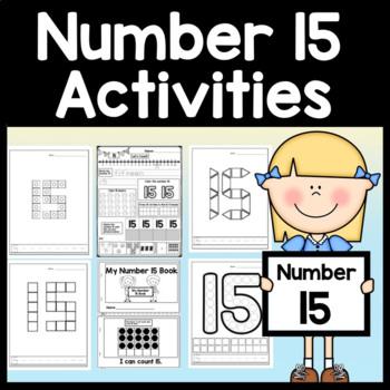 Number 15 Worksheet Teaching Resources | Teachers Pay Teachers