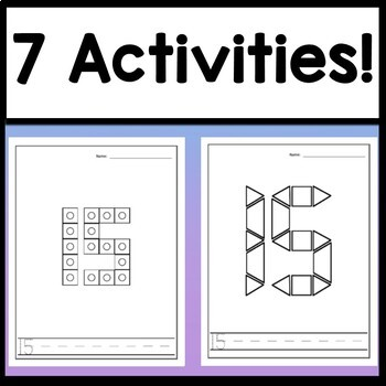Number 15 Mini Bundle {Number 15 Worksheet and Six Number 15 Activities!}