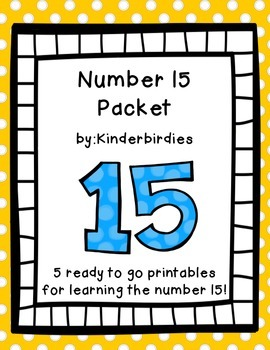 Number 15 Packet