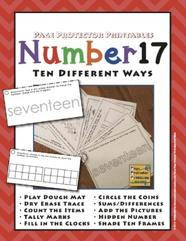 Number 17 Ten Different Ways