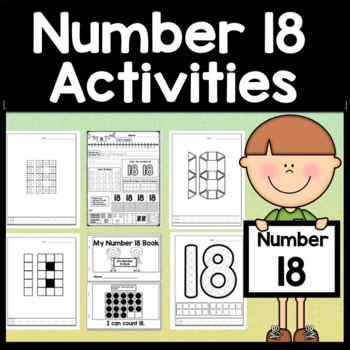 Number 18 Mini Bundle {Number 18 Worksheet and Six Number 18 Activities!}