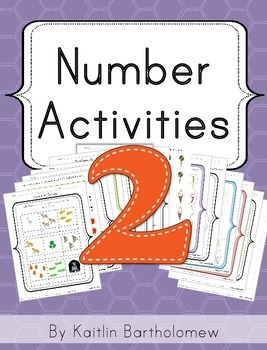 Number 2 Activities- 39 Pages! {Common Core}