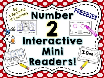 Number Two Interactive Mini Readers- FREEBIE!!