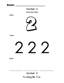 Number 2 Practice