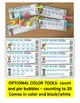 Number 20 Math Worksheets-NO PREP (PRE-KG EDITION)-Counting and Cardinality CCSS
