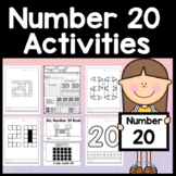 Number 20 Mini Bundle {Number 20 Worksheet and Six Number 20 Activities!}