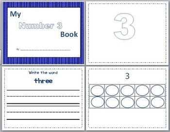 Number 3 Concept Book