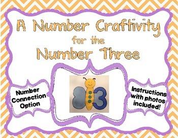 Number 3 Craftivity