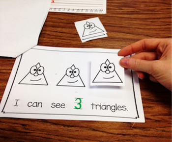 Number Three Interactive Mini Readers- FREEBIE!!