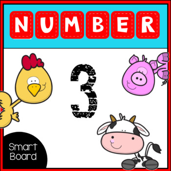Number 3 for SMARTboard