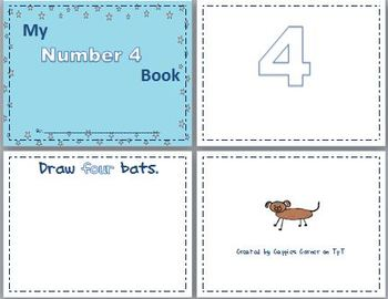 Number 4 Concept Book