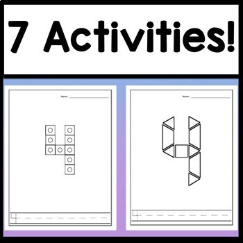 Number 4 Worksheet and Number 4 Activities! {Number of the Day Kindergarten}