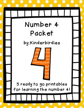Number 4 Packet