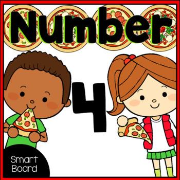 Number 4 for SMARTboard