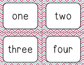 Number Identification Bingo-February