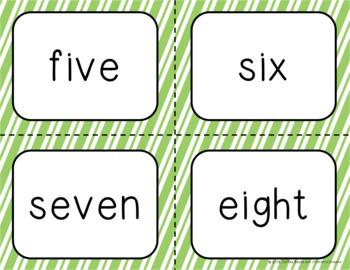 Number Identification Bingo-March