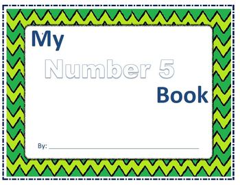 Number 5 Concept Book