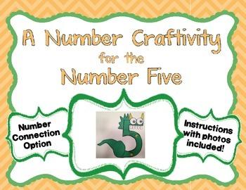 Number 5 Craftivity