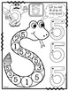Number 5 Math Worksheets-NO PREP (PRE-KG EDITION)- Countin