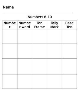 Number 6-10