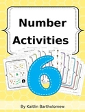 Number 6 Activities- 41 Pages! {Common Core}