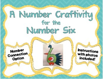 Number 6 Craftivity