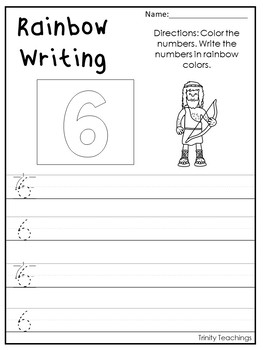 Number 6 Jacob and Esau Printable Bible Worksheets. Bible Number of the Week.