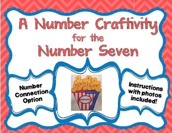 Number 7 Craftivity