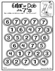 Number 7 Math Worksheets-NO PREP (PRE-KG EDITION)- Countin