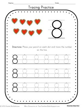 Number 8 Activities- 41 Pages! {Common Core}