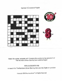 Number 8 Crossword Puzzle