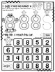 Number 8  Math Worksheets-NO PREP (PRE-KG EDITION)-Countin