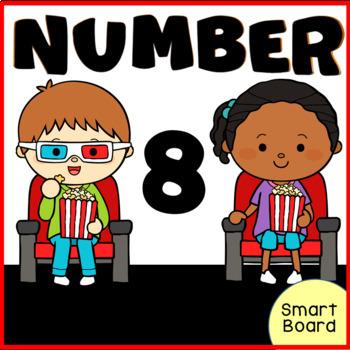 Number 8  for SMARTboard