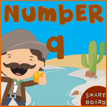 Number 9  for SMARTboard