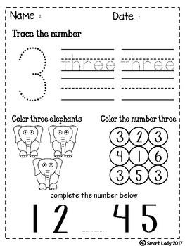 FREE Number Activities 1-10