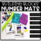 Number Activities | Building Blocks Number Mats | Fine Motor
