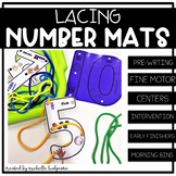 Number Activities | Lacing Number Mats | Fine Motor | Laci