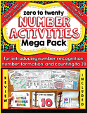 Number Activities Mega Pack