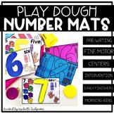 Number Activities | Number Play Dough Mats | Fine Motor |