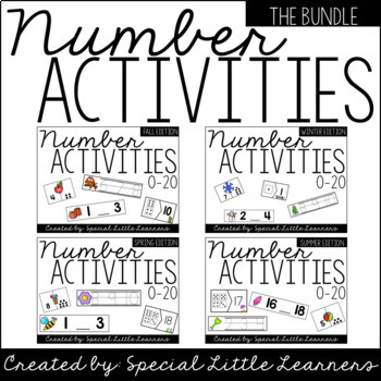 Number Activities (The Bundle)