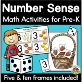 Number Sense Activities for Preschool